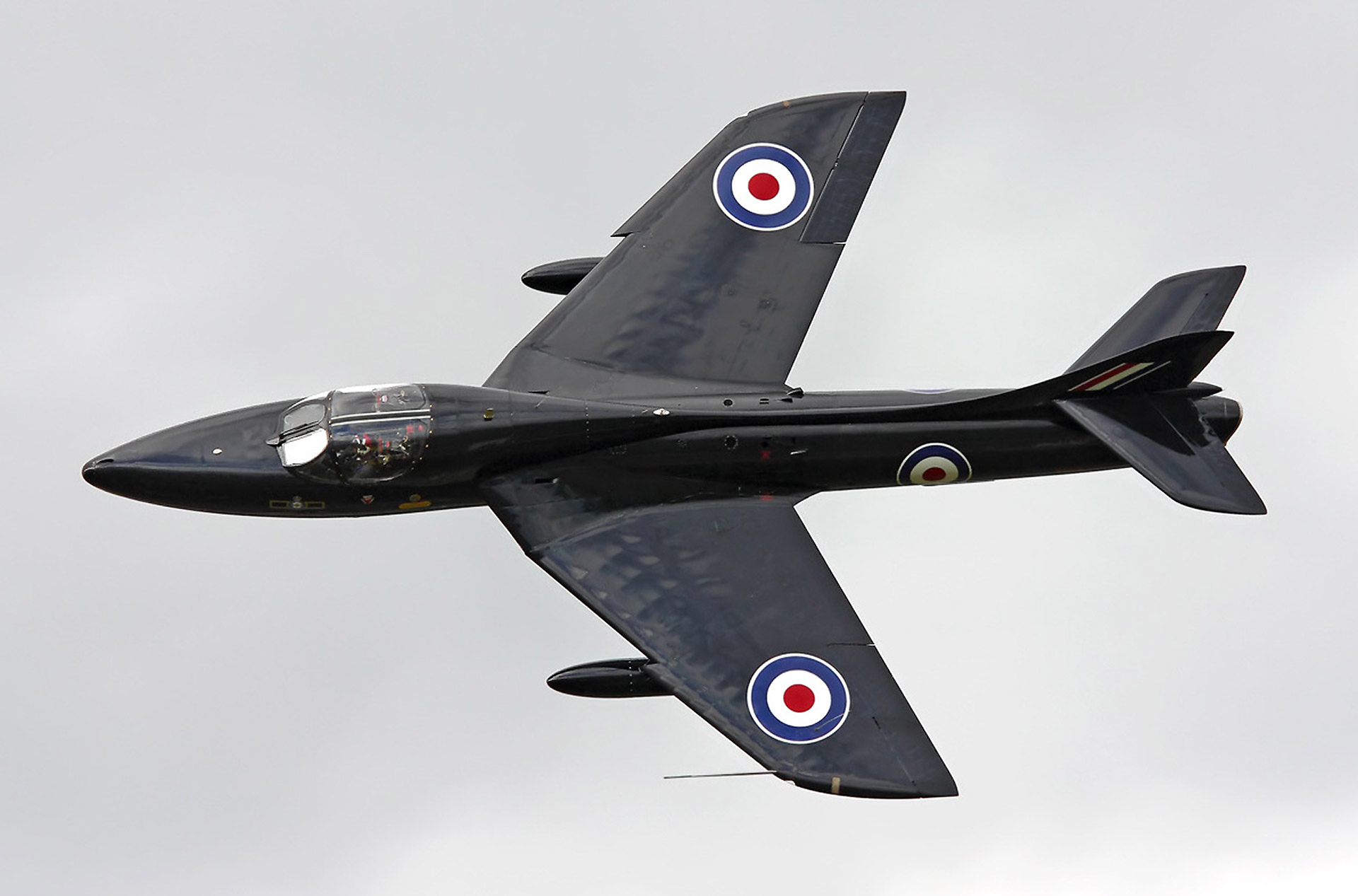 Vol en Hawker Hunter