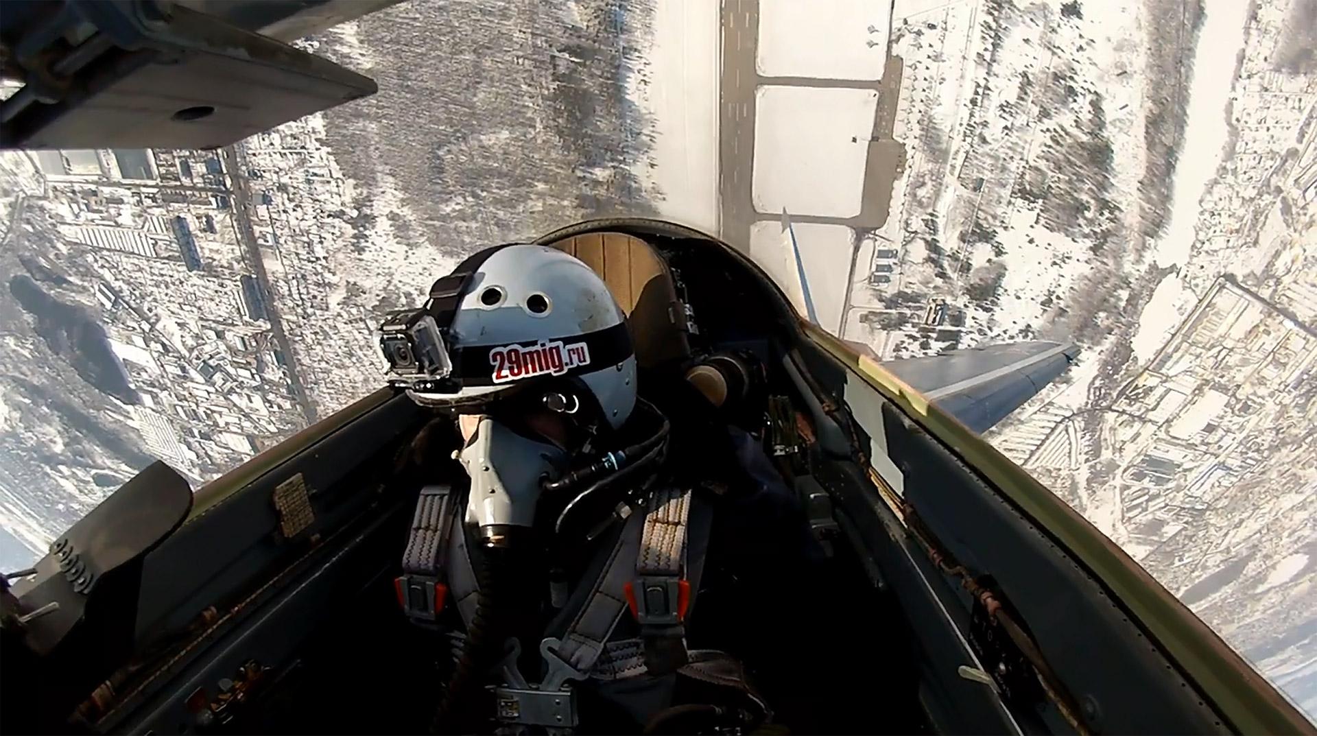 vol acrobatique en mig-29