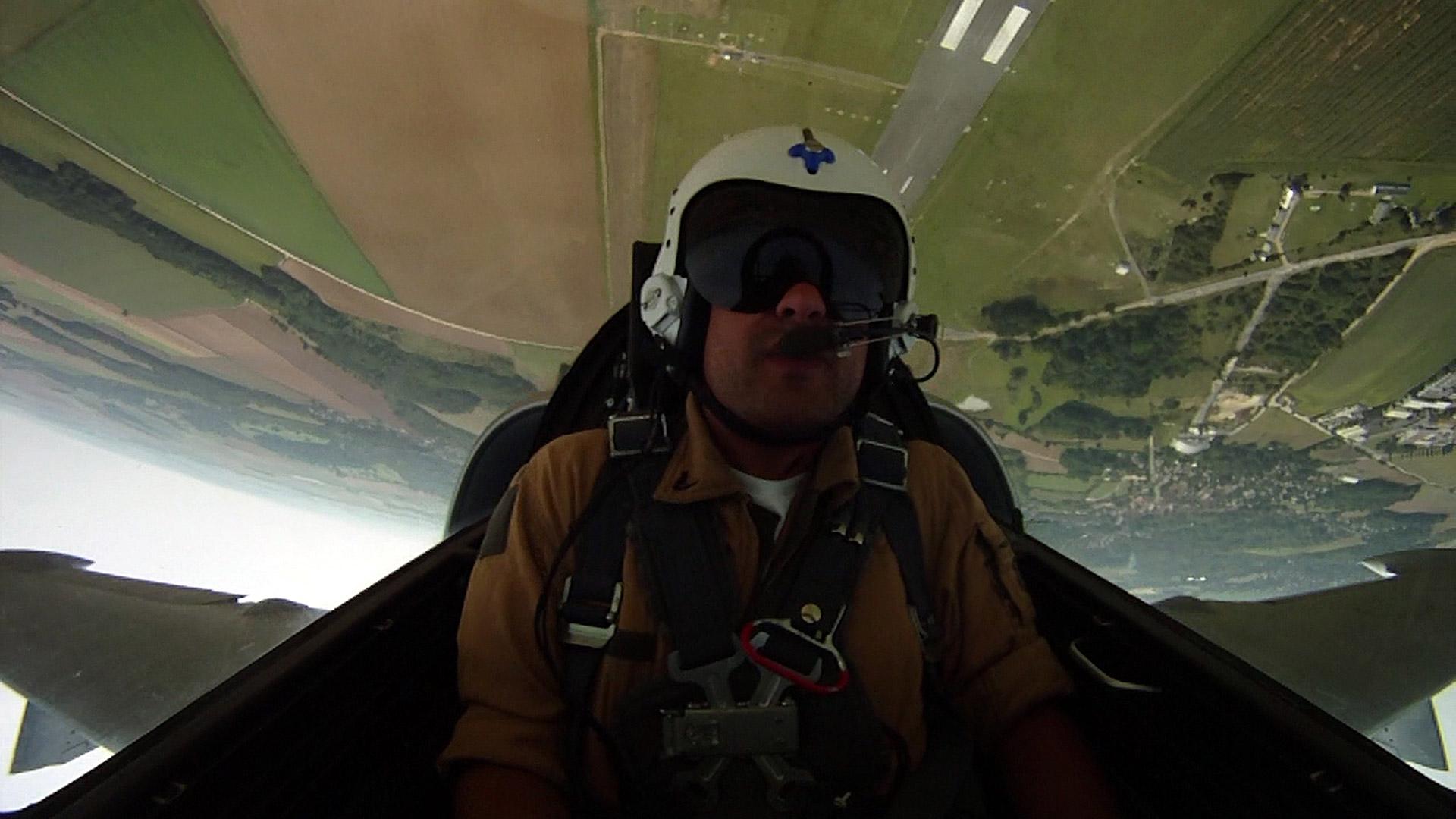 vol en avion de chasse l39 angleterre