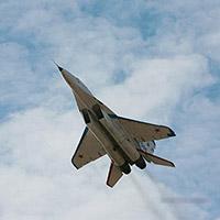 Vol en MiG 29