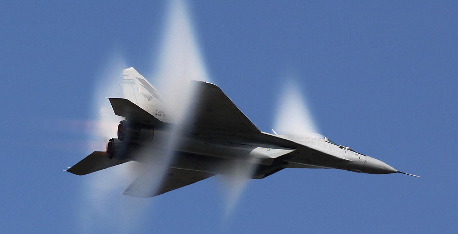 Vol Supersonique en MiG-29