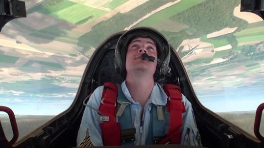 vol en avion de chasse fouga magister