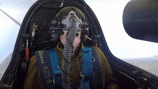 vol en avion de chasse