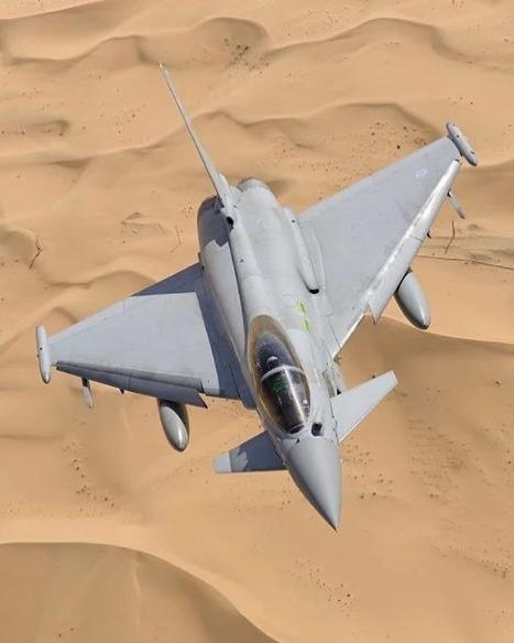 avion de chasse typhoon