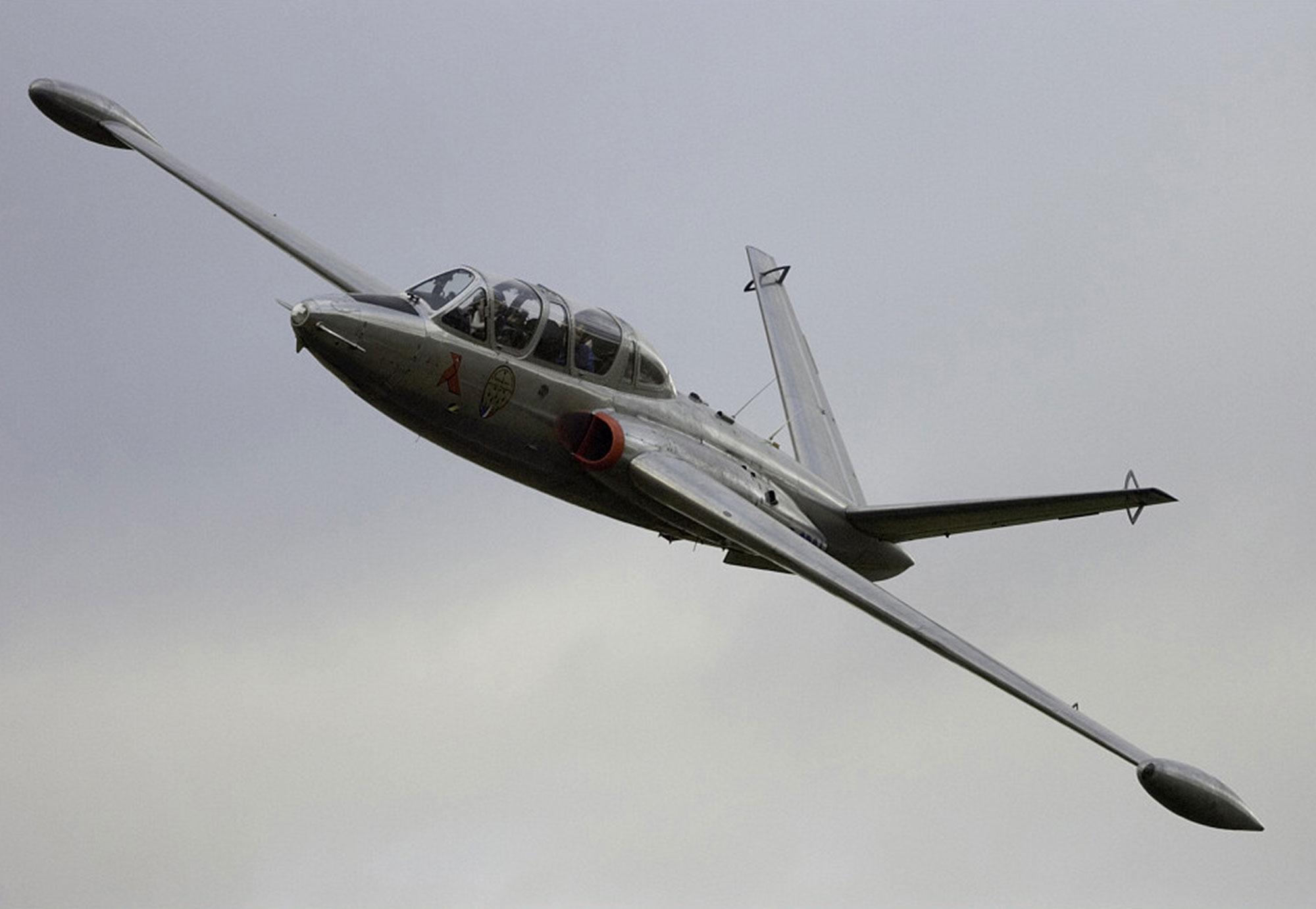 vol avion chasse fouga magister