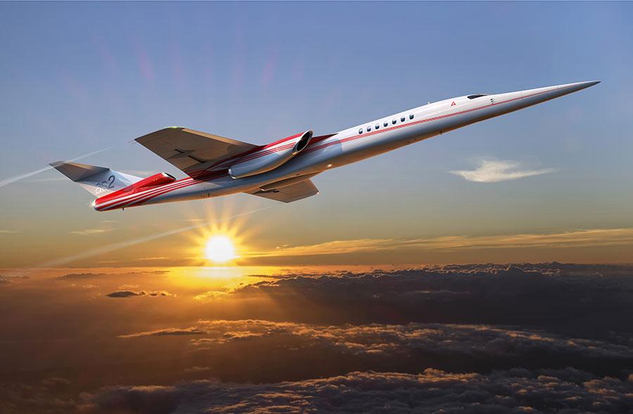 aerion supersonique