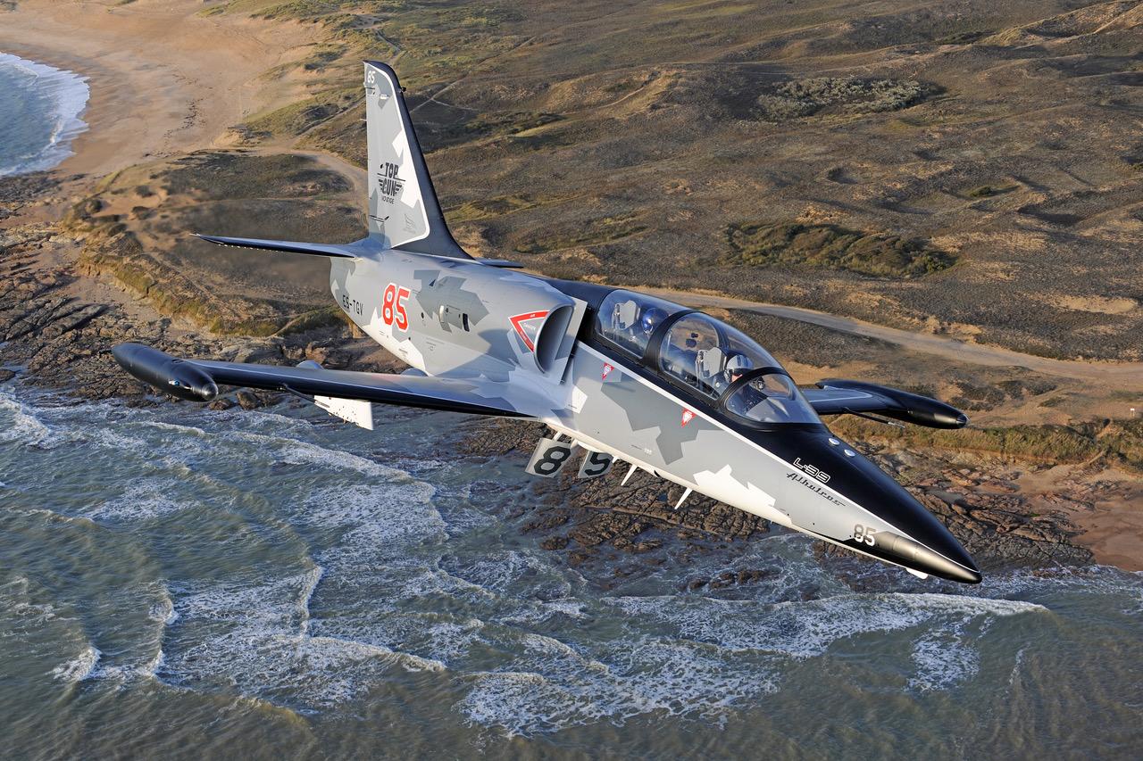 vol en avion de chasse Normandie