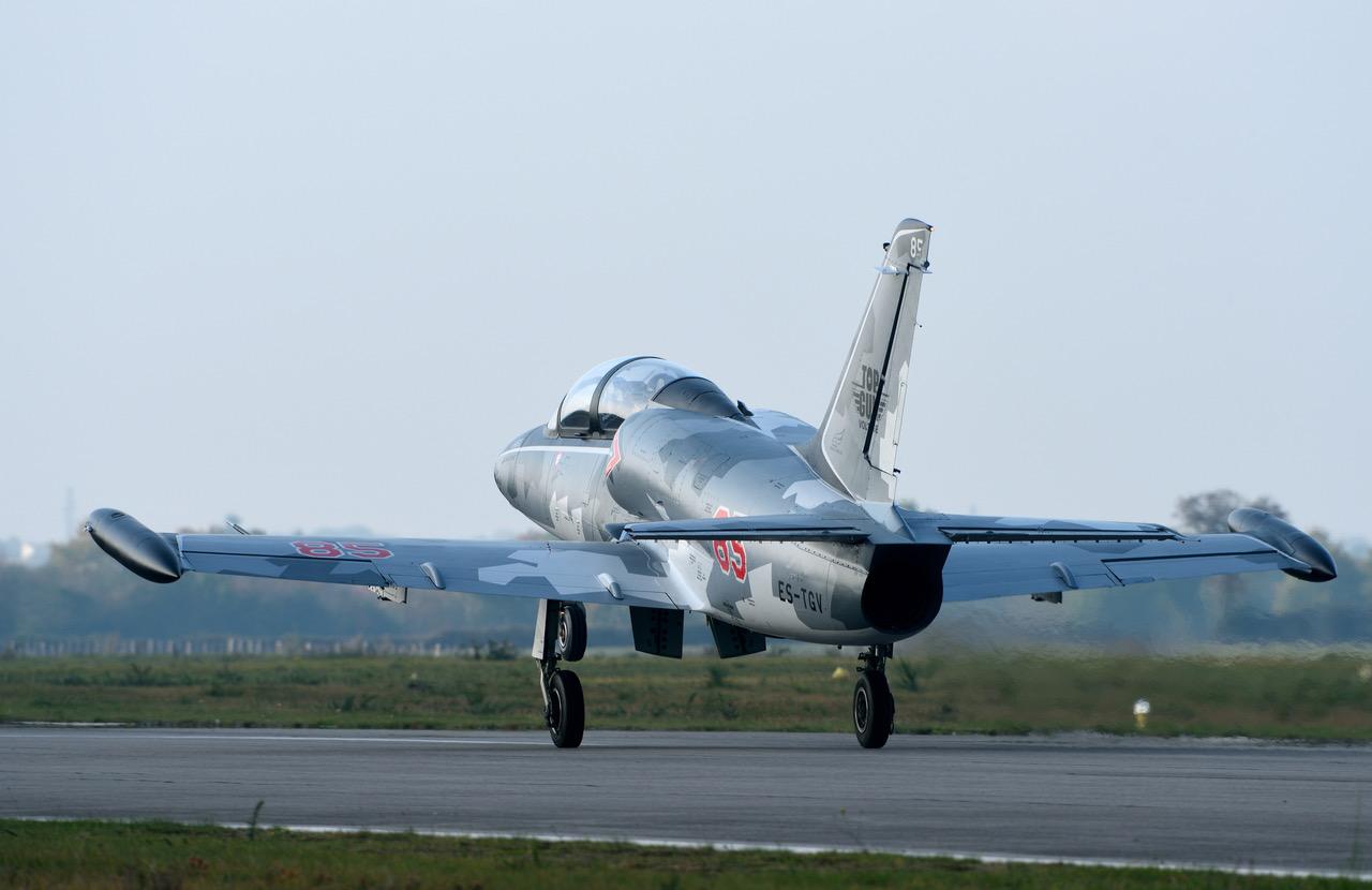vol en avion de chasse L-39 Avignon